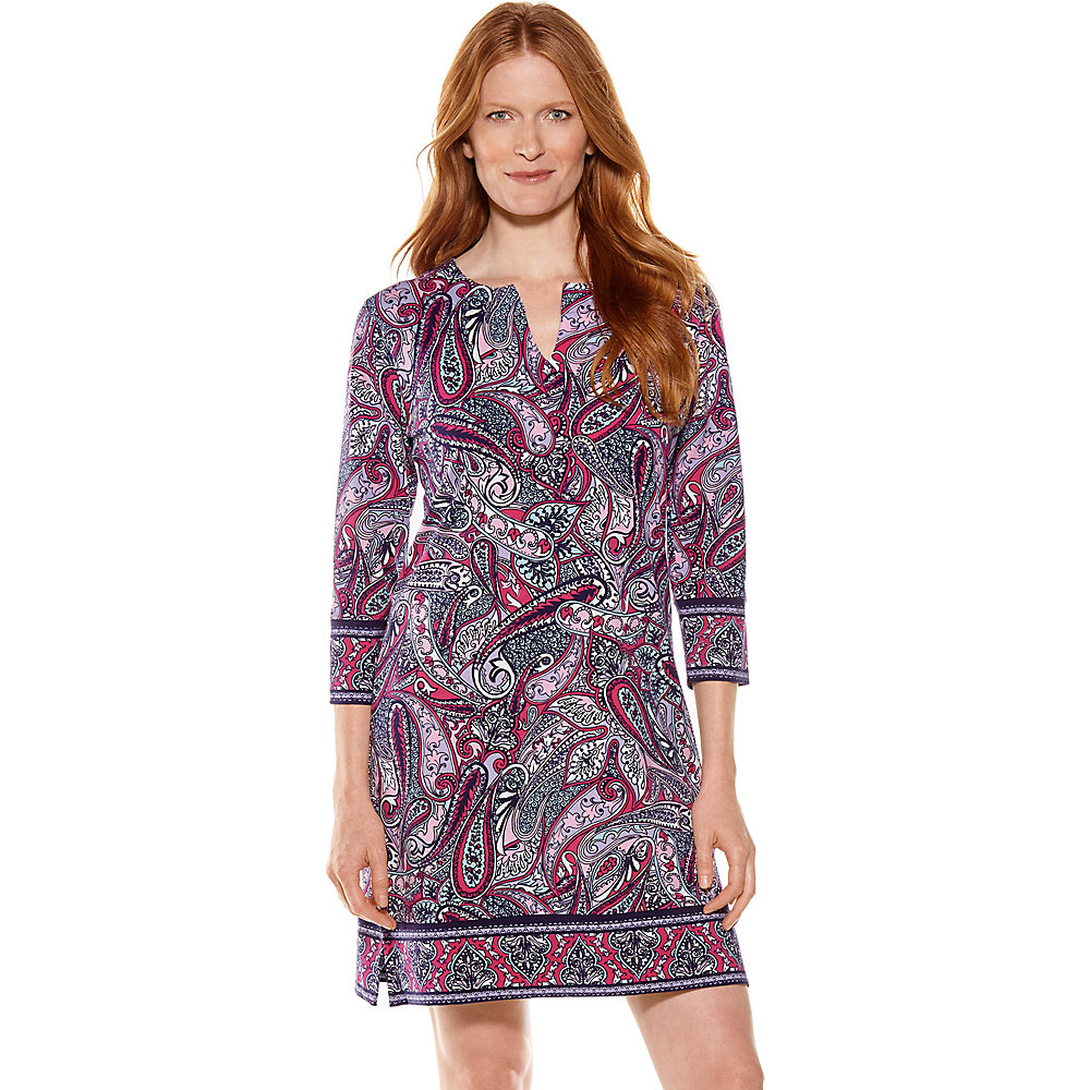 Coolibar UPF 50 Women/'s Oceanside Tunic Dress