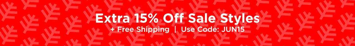JUN15 - 15%Off Sale Styles