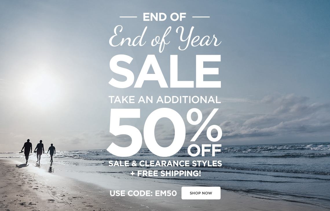 Shop Sale - Use Code EM50