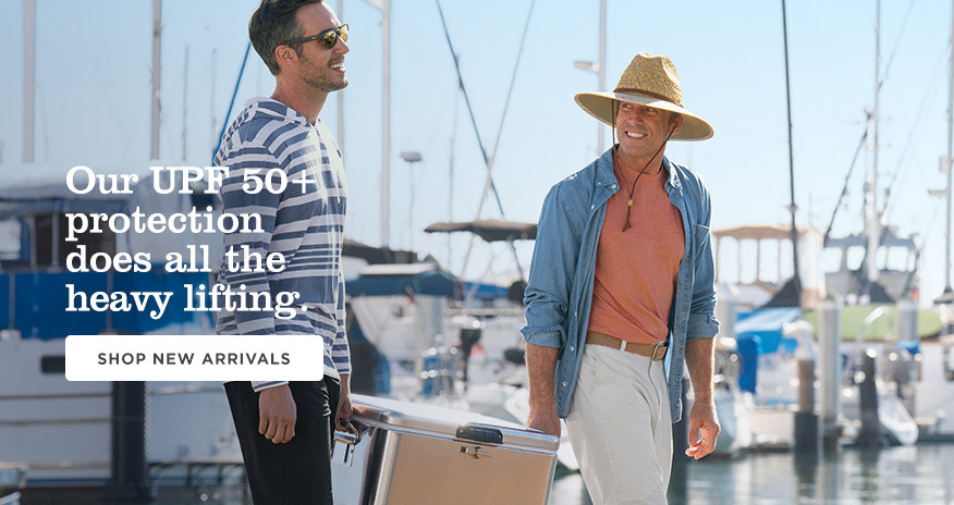 Our UPF 50+ protection does all the heavy lifting. Shop new arrivals.