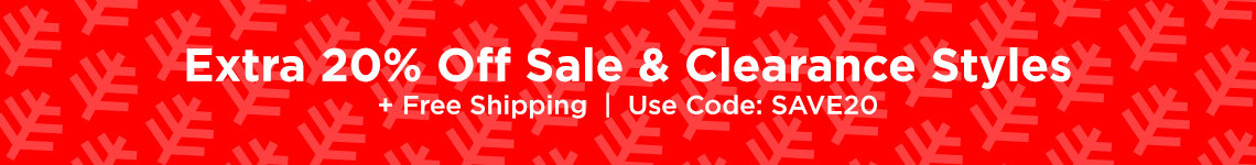 20% Off Sale & Clearance Styles + Free shipping | Use Code SAVE20