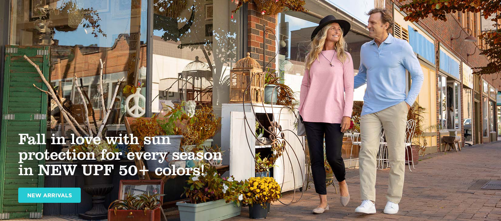 Fall in love with sun protection for every season in NEW UPF 50+