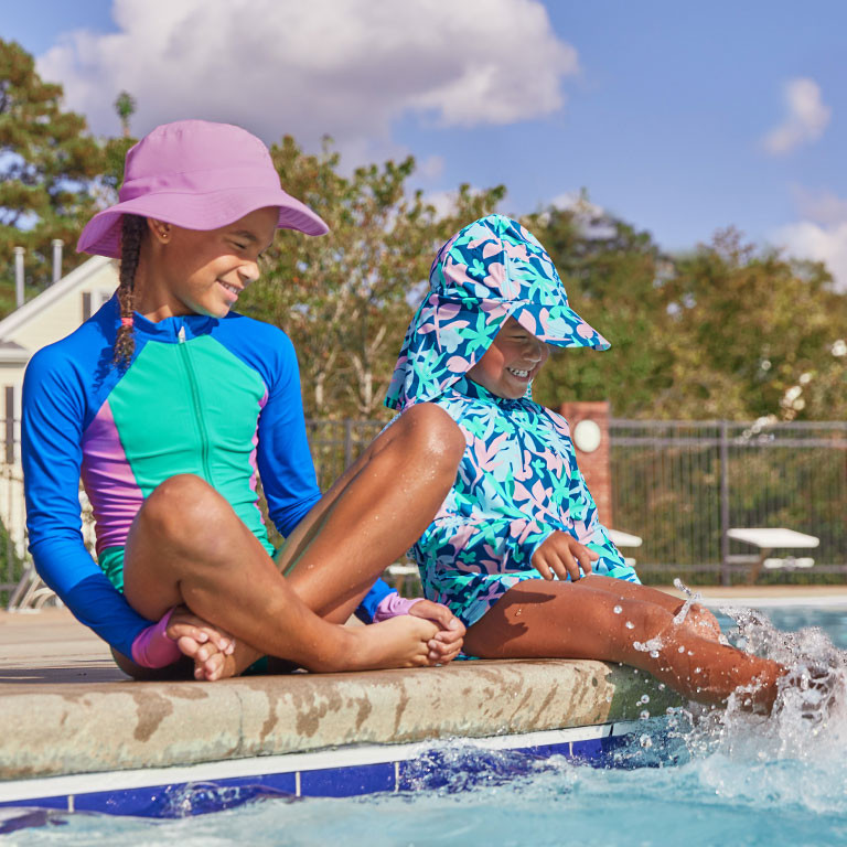 Coolibar UPF 50+ Girls Swimwear 4-16