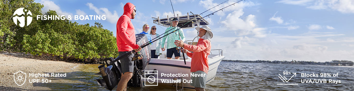 Mens - Shop By Activity - Fishing & Boating
