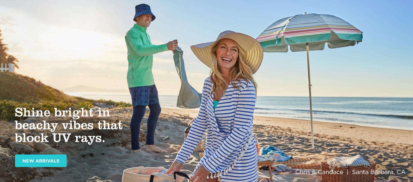 Shine bright in beachy vibes that block UV rays. SHOP SUMMER NEW ARRIVALS
