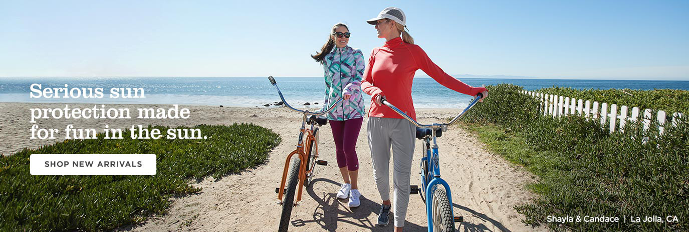 Serious sun protection made for fun in the sun - Shop Women - New Arrivals