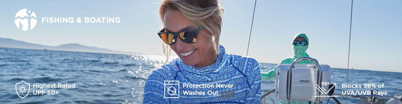 Womens - Shop By Activity - Fishing & Boating