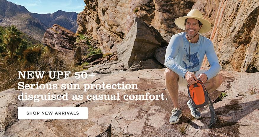 5fab597dcc0f3 Sun Protection Beachwear for Men  Sun Protective Clothing - Coolibar ...