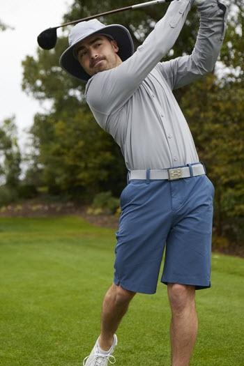 Mens Active - man swinging golf club
