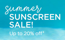 Shop Sunscreen Sale
