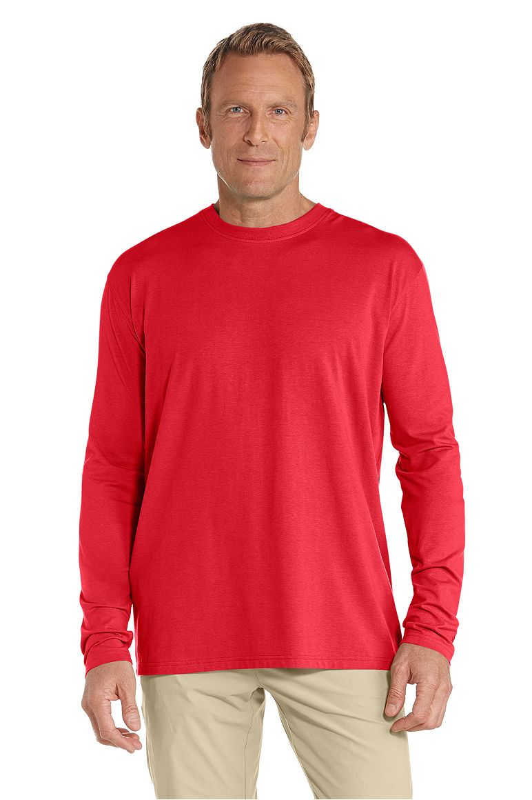 Men's Long Sleeve T-Shirt UPF 50+