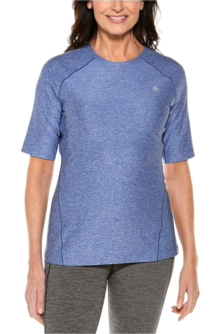 Women's Devi Short Sleeve Fitness T-Shirt UPF 50+
