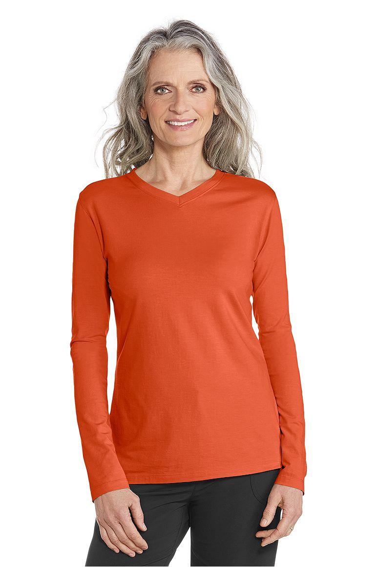 Women's V-Neck T-Shirt UPF 50+