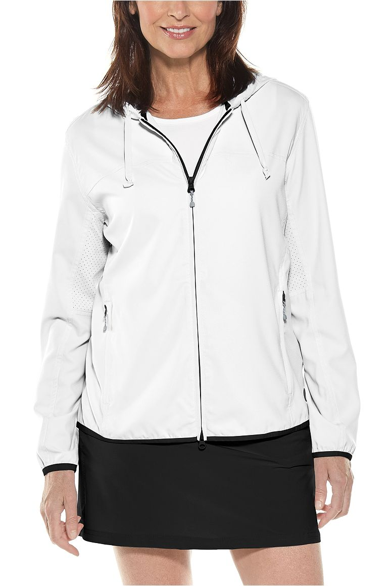 Women's Packable Sunblock Jacket UPF 50+