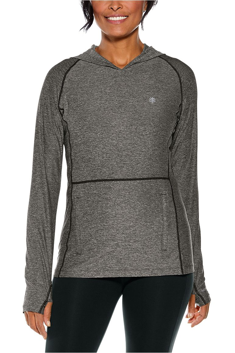 Tempo Hoodie Charcoal XL Heather