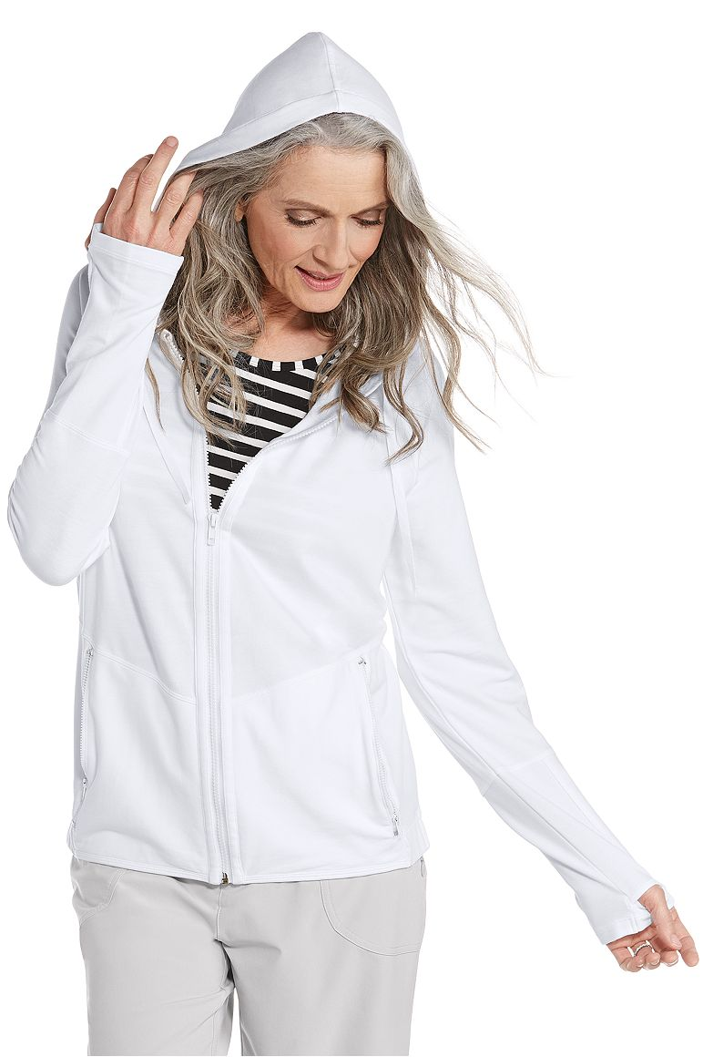 Women's Zip Up Hoodie UPF 50+