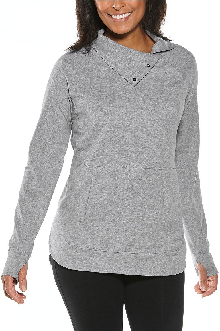 Women's Sea Breeze Funnel Neck Top UPF 50+