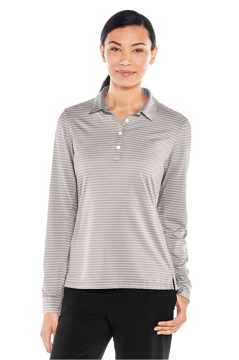 Women's Fitness Polo UPF 50+