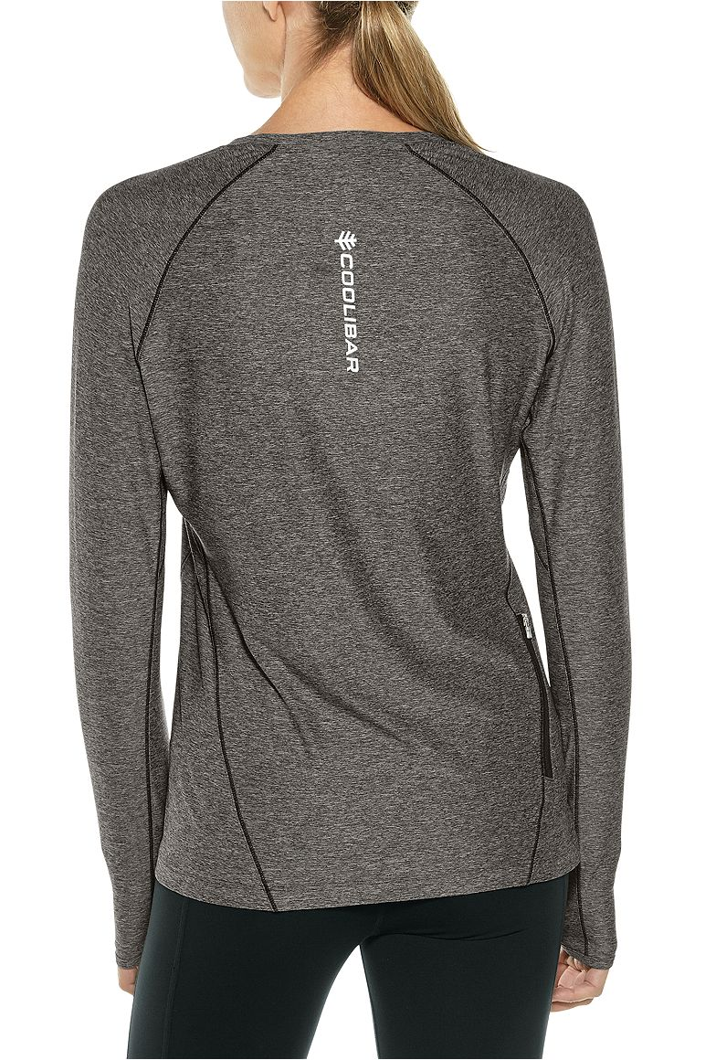 Women's Long Sleeve Fitness Tee UPF 50+