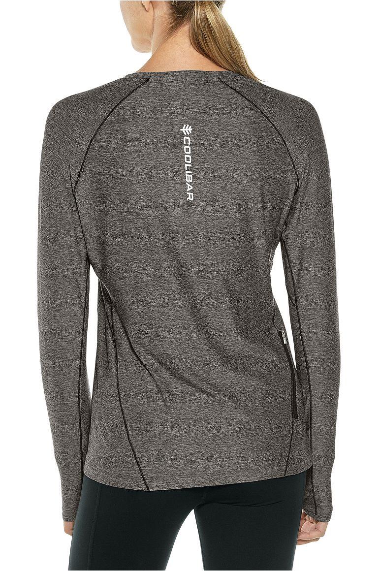 Women's Long Sleeve Fitness Tee UPF 50+