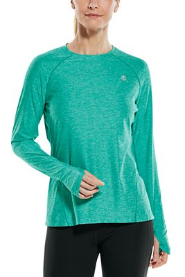 Women's Devi Long Sleeve Fitness T-Shirt UPF 50+