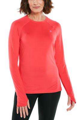 Women's Devi Long Sleeve Fitness T-Shirt UPF 50+