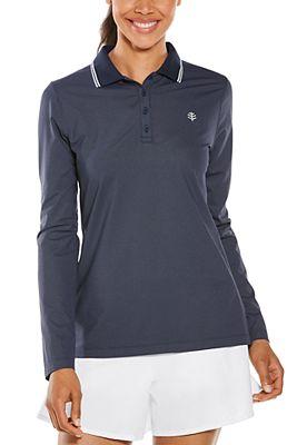 Women's Birdie Long Sleeve Golf Polo UPF 50+