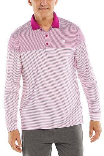 Erodym Long Sleeve Golf Polo