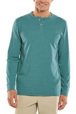 Men's Mojave Long Sleeve Henley UPF 50+