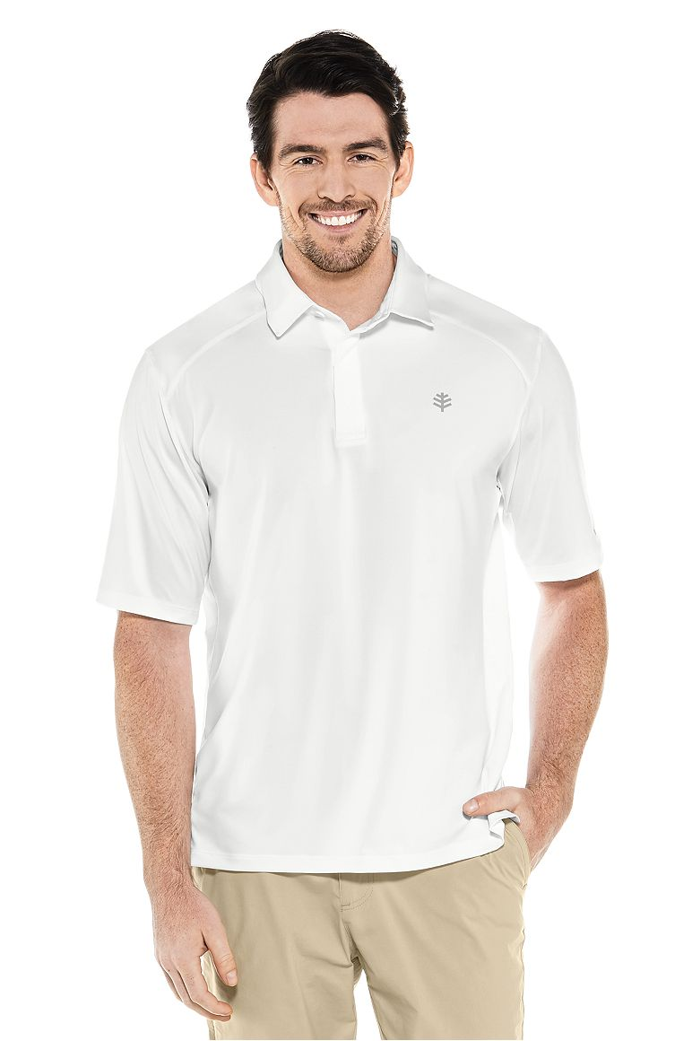 Men's Short Sleeve Performance Polo UPF 50+