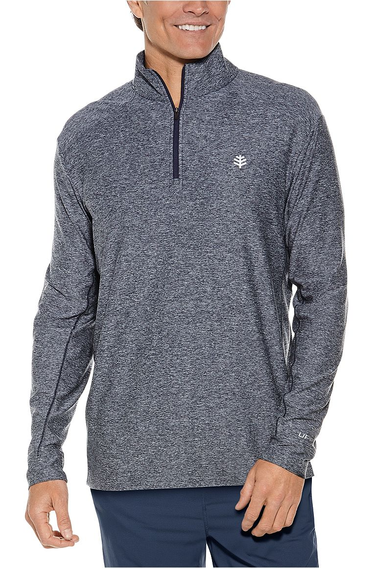 Men's Agility Performance Pullover UPF 50+