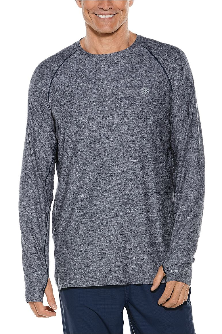 Men's Long Sleeve Performance Tee UPF 50+