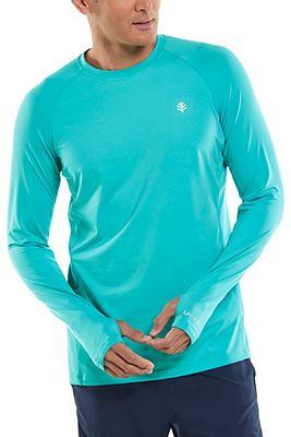 Men's Agility Long Sleeve Performance T-Shirt UPF 50+