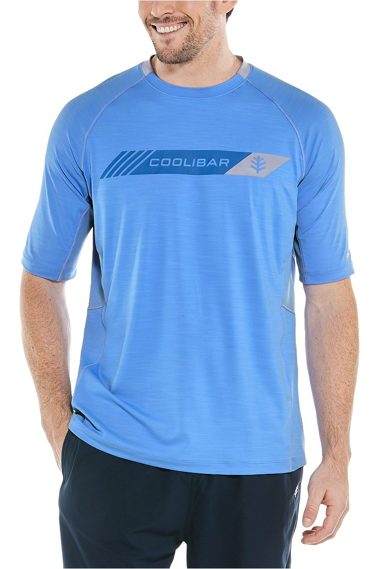 Men's Short Sleeve Performance Graphic Tee UPF 50+