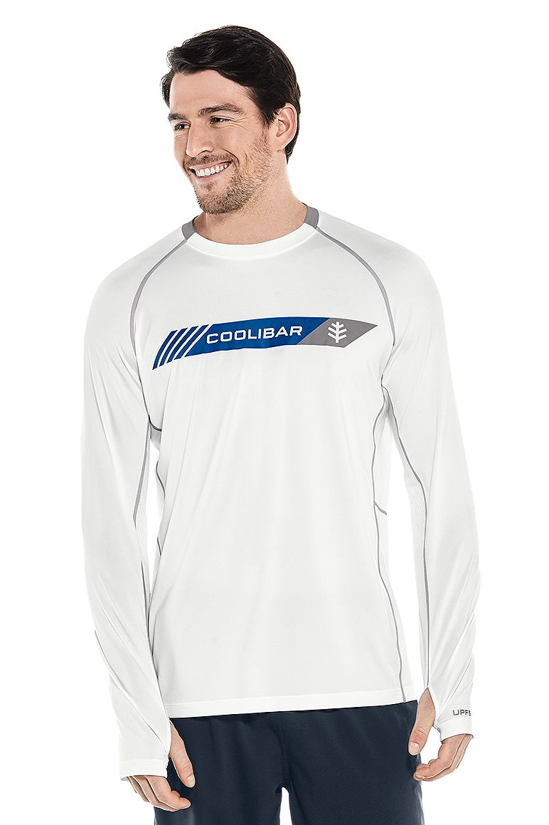 Men's Long Sleeve Performance Graphic Tee UPF 50+