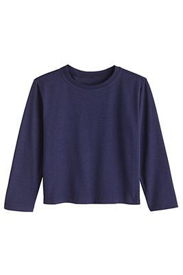 Toddler Coco Plum Everyday Long Sleeve T-Shirt UPF 50+