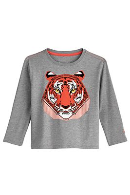 Toddler Coco Plum Everyday Long Sleeve Graphic T-Shirt UPF 50+