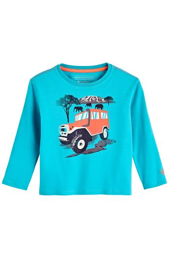 Toddler Coco Plum Everyday Long Sleeve Graphic T-Shirt