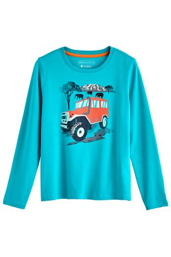Boy's Coco Plum Everyday Long Sleeve Graphic T-Shirt