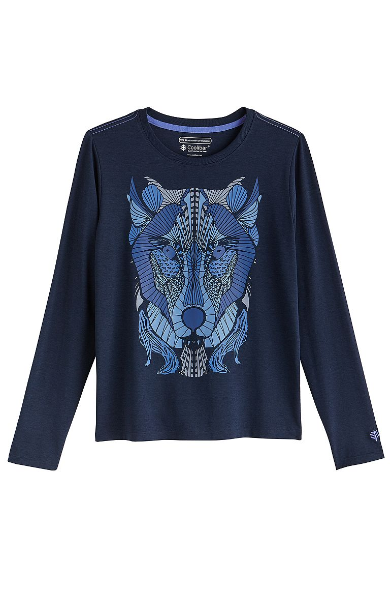 Boy's Coco Plum Everyday Long Sleeve Graphic T-Shirt UPF 50+