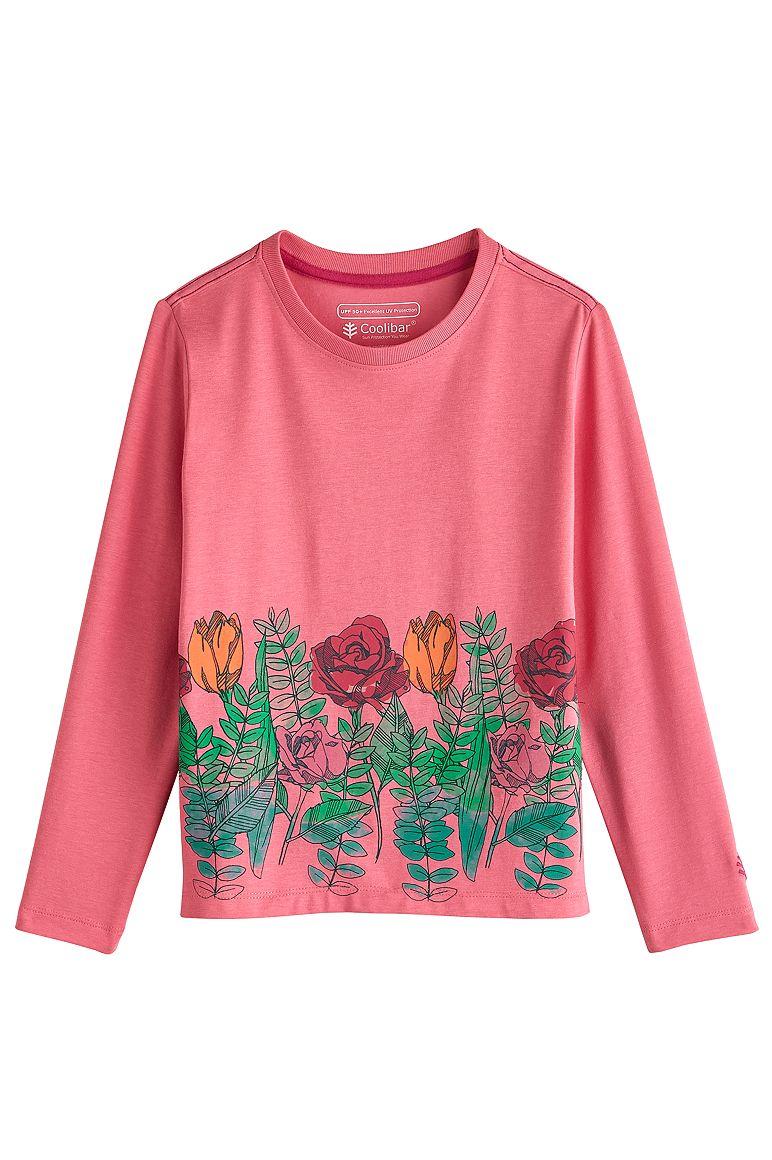 Kid's Long Sleeve Graphic T-Shirt UPF 50+