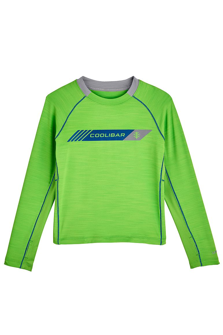Boy's Long Sleeve Performance Graphic Tee UPF 50+