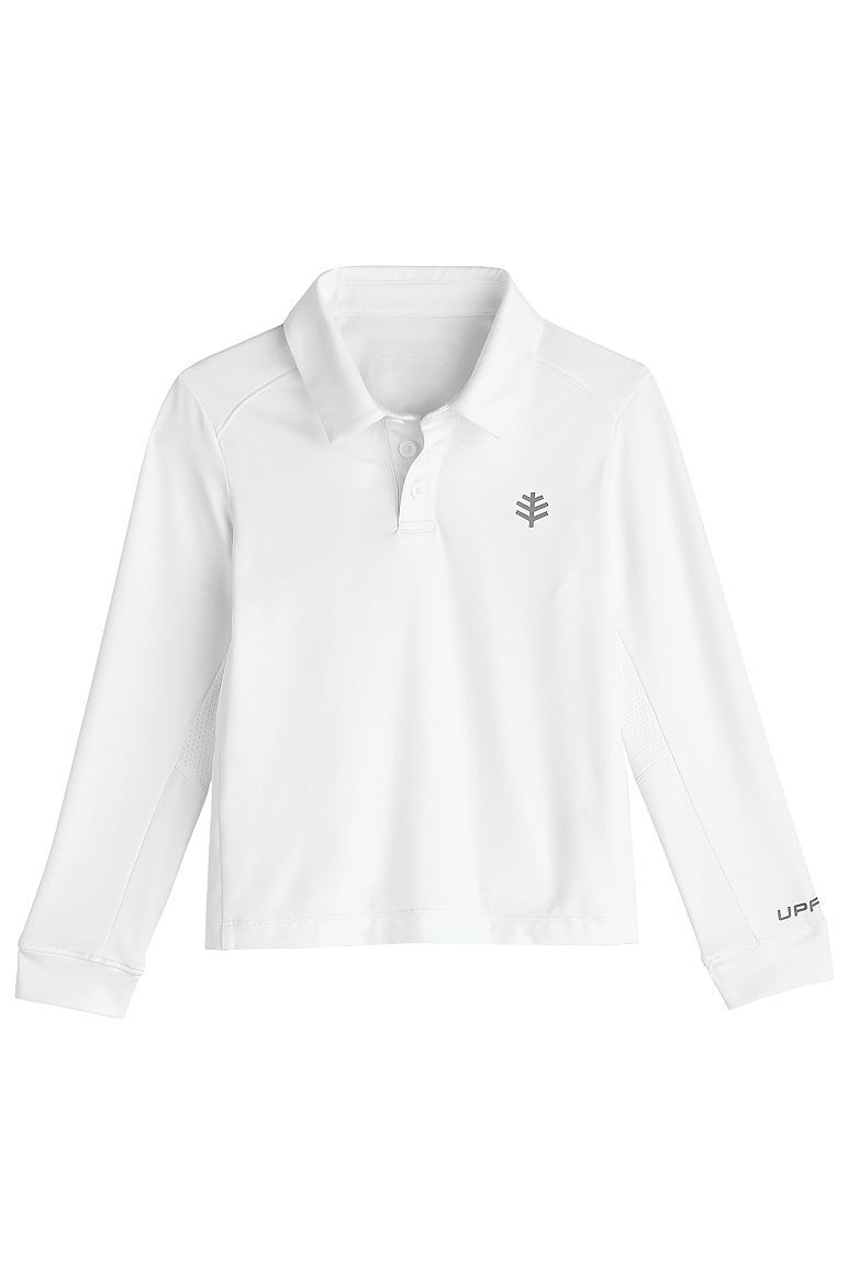 Boy's Performance Polo UPF 50+