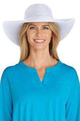 Women's Perla Packable Wide Brim Hat UPF 50+