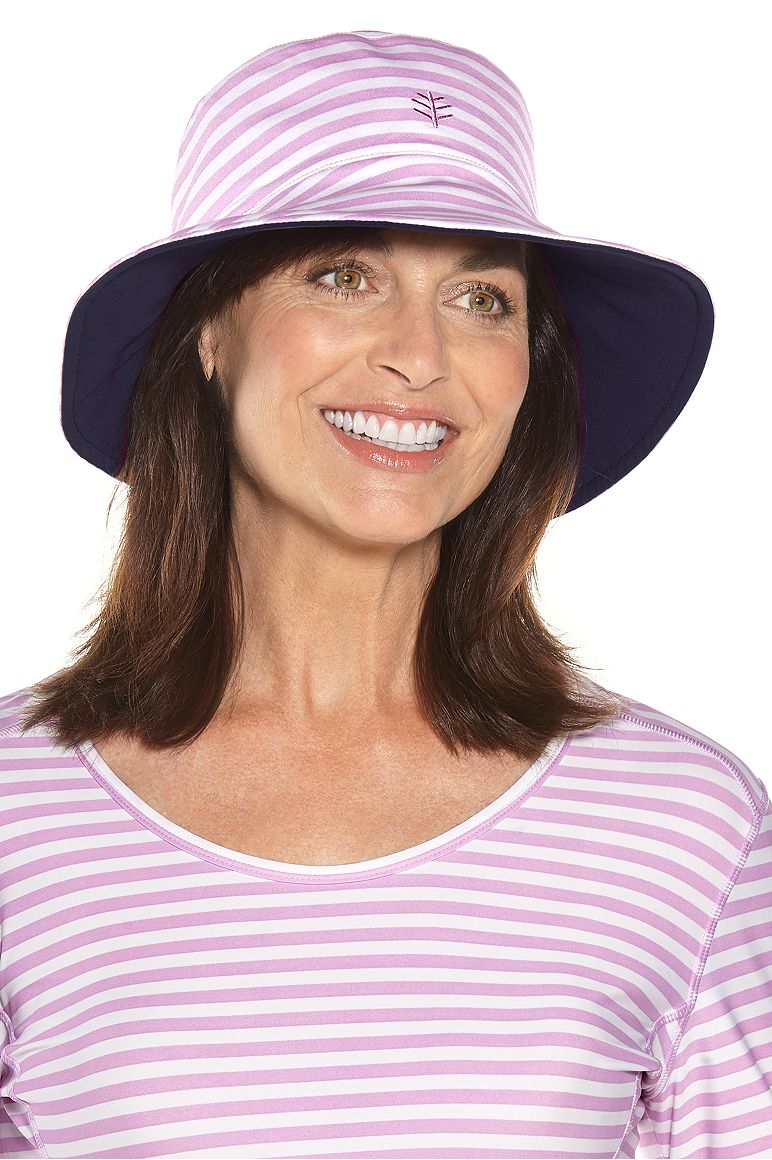 Women's Reversible Pool Hat UPF 50+