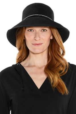 COMPACT IN A SNAP!™ Audrey Ribbon Bucket Hat UPF 50+