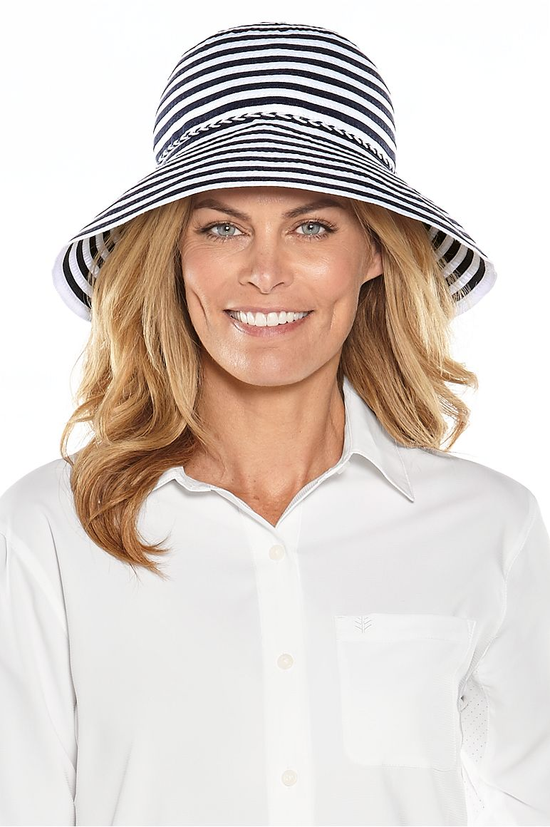 Women's Ribbon Bucket Hat UPF 50+