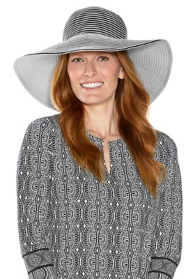 COMPACT IN A SNAP!™ Ginger Ribbon Hat UPF 50+