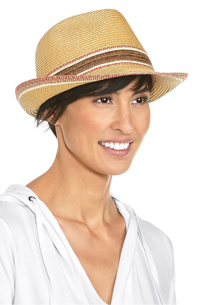 Women's Summer Fedora UPF 50+