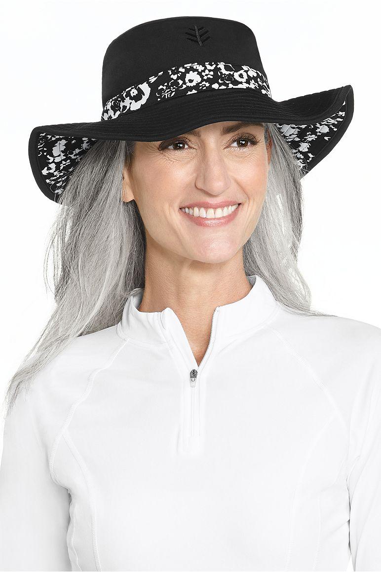 Women's Chlorine Resistant Bucket Hat UPF 50+